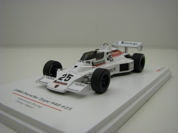 Porsche type 940 No.25 Interscope Racing Danny Ongais 1980 1:43 TSM True Scale Models